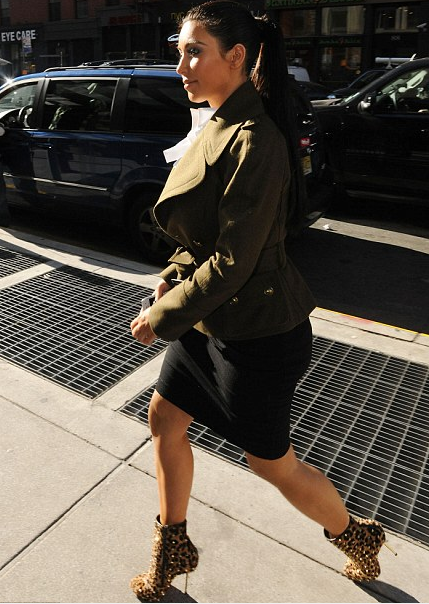 Do you care?  Kim Kardashian Broke Her Toe!