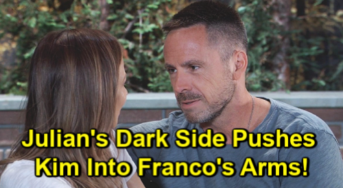 General Hospital Spoilers: Julian's Dark Side Pushes Kim Into Franco's Arms – Liesl Murder Plot & Wiley Cover-up Bring Disaster
