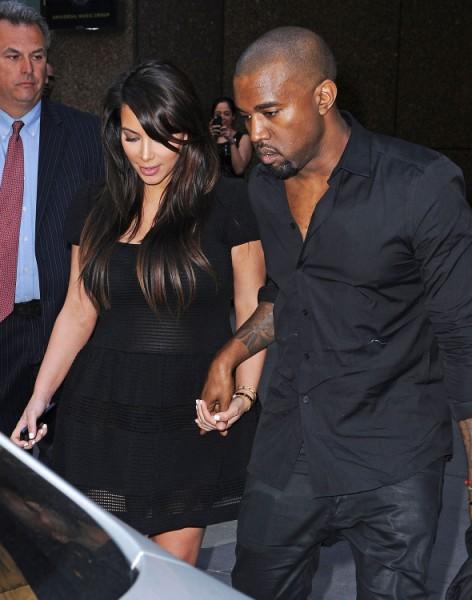 Kim Kardashian And Kanye West Using Baby To Promote New Album And Fashion Line 0503