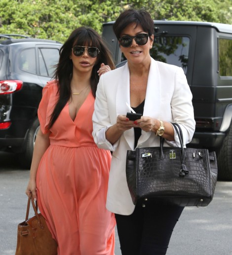 Kim Kardashian Signing Weight Watchers Deal - Is Kris Jenner A Genius? 0528