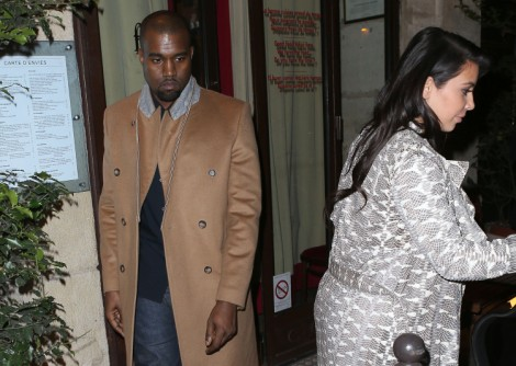 Kanye West Has Only Spent 18 Days With Kim Kardashian Since Baby - Why Is He Staying Away? 0409
