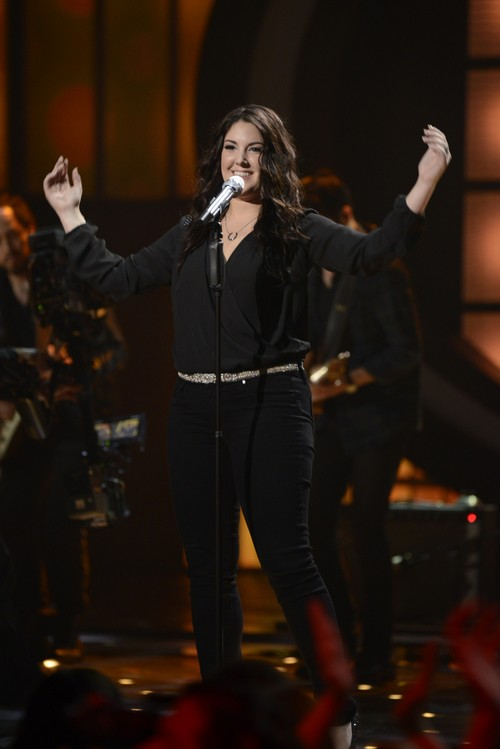 "Kree Harrison American Idol ""Don't Play That Song"" Video 3/27/13"