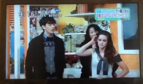 Kristen Stewart Charms Japan – Too Bad Robert Pattinson Hates Her (Video)