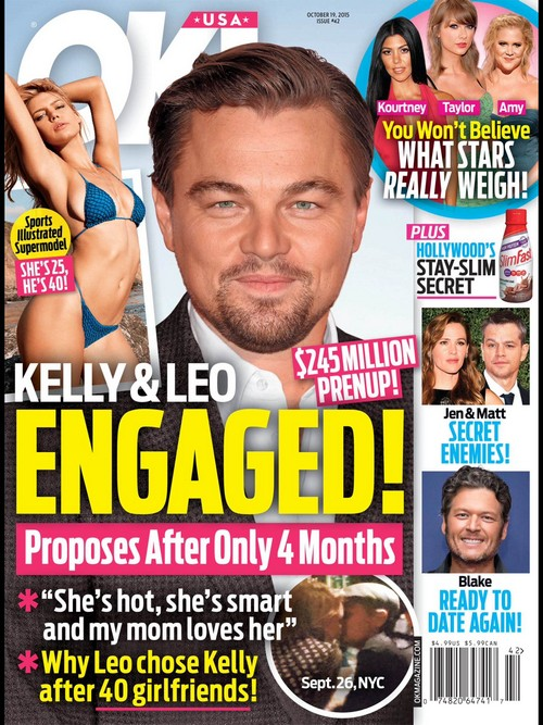 Leonardo DiCaprio Engaged To Girlfriend Kelly Rohrbach After 4 Months: Leo Is Finally Getting Married?