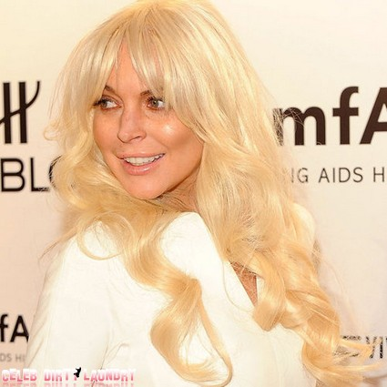 Lindsay Lohan In Trouble With The Tax Man Again
