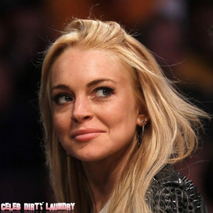 Lindsay Lohan Calls The Cops On Stalker