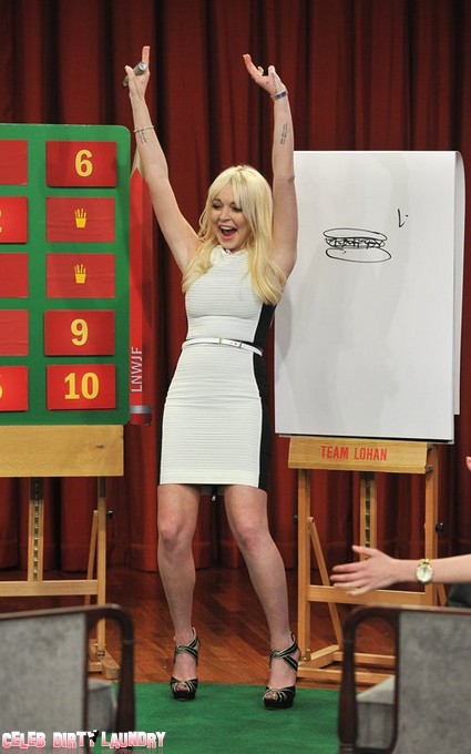 Lindsay Lohan Makes Another Embarrassing TV Appearance (Photo)