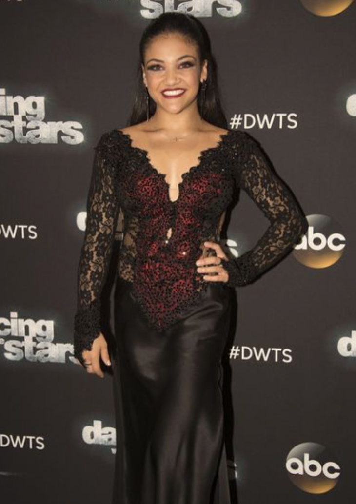 Laurie Hernandez Dancing With The Stars Freestyle Video Season 23 Finale – 11/21/16 #DWTS