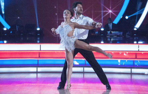 Laurie Hernandez Dancing With The Stars Quickstep Video Season 23 Week 7 – 10/24/16 #DWTS