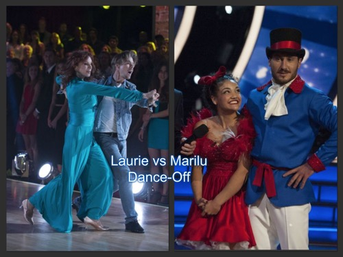 Laurie Hernandez Beat Marilu Henner: Dancing With The Stars Tango Face-Off Season 23 Week 3 Video