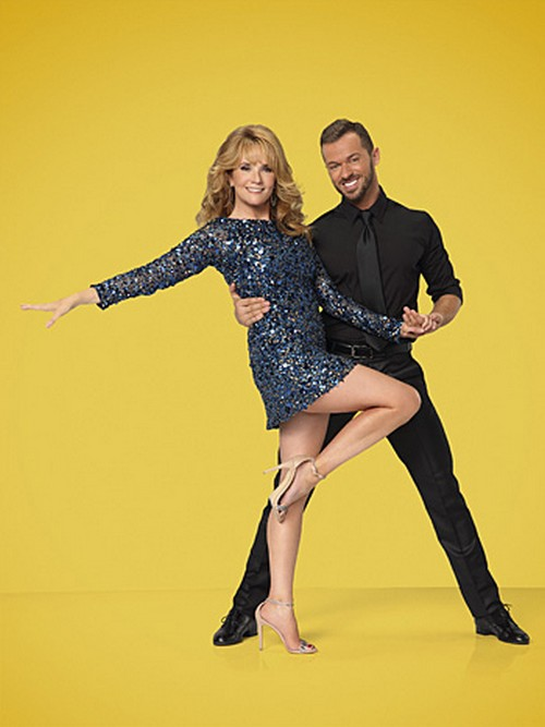 Lea Thompson Foxtrot Video Dancing With the Stars Season 19 Premiere 9/15/14 #DWTS