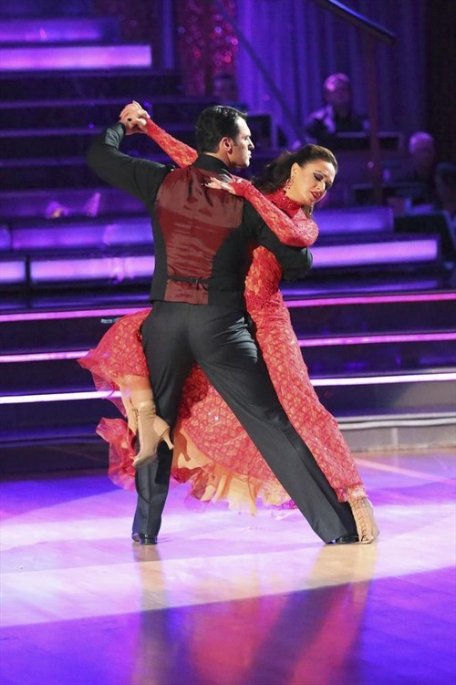Leah Remini Dancing With the Stars Argentine Tango Videos 11/18/13