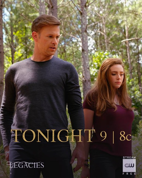 """Legacies Recap 11/01/18: Season 1 Episode 2 """"Some People Just Want to Watch the World Burn"""""""