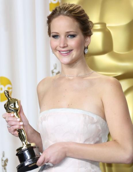Leonardo DiCaprio Hits On Oscar Winner Jennifer Lawrence At Awards Party? 0225