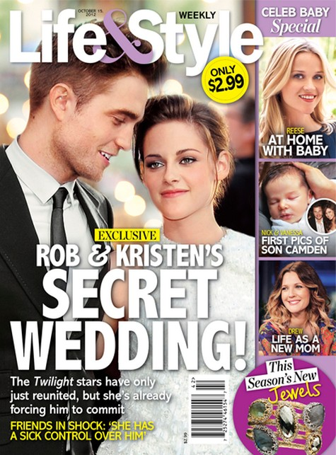 Details of Robert Pattinson and Kristen Stewart's Secret Wedding