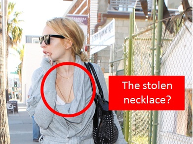 Police Worked With Jeweler To Nail Lindsay Lohan With Stolen Necklace