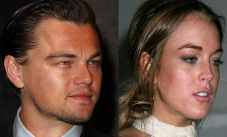 Report: Lindsay Lohan Hitting On Leonardo DiCaprio Again
