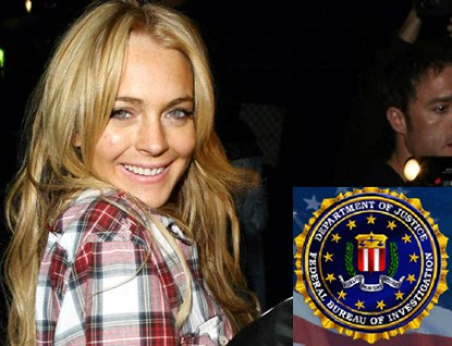 FBI Now Involved - Lindsay Lohan's Stalking Takes A Serious Turn