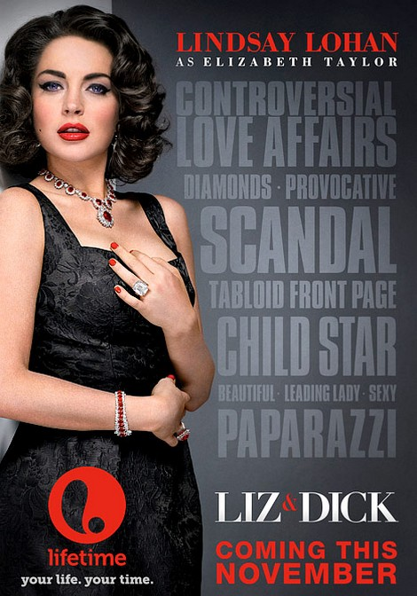 Liz & Dick First Trailer: Lindsay Lohan Gets Naked And Nasty! (Video)