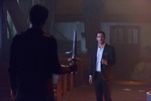 "Sympathy For The Devil Tom Ellis Is Having A Hell Of A: Lucifer Recap 5/8/17: Season 2 Episode 15 ""Deceptive"