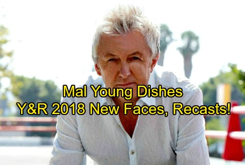 The Young and the Restless Spoilers: Y&R's New Faces, Fresh Characters and Recasts Ahead – Mal Young Dishes on Cast Shakeups