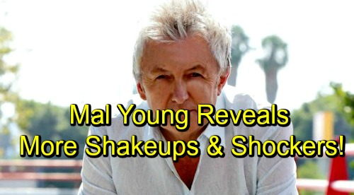 The Young and the Restless Spoilers: Mal Young Reveals His Vision for Y&R – Shares Behind-the-Scenes Shakeups and Shockers