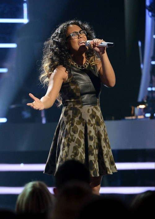 "Malaya Watson American Idol ""Through The Fire"" Video 4/9/14 #IdolTop8"