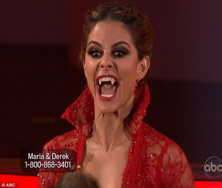 Maria Menounos Dancing With The Stars Samba Performance Video 5/7/12