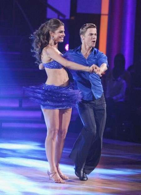Maria Menounos Dancing With The Stars Salsa Performance Video 4/16/12