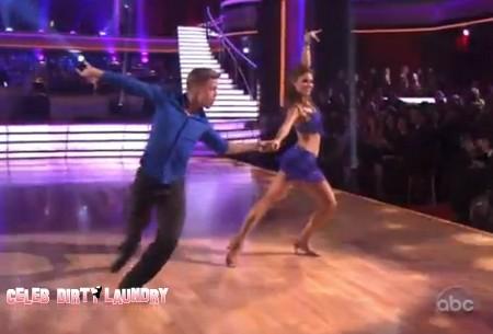 Maria Menounos Dancing With The Stars Cha Cha Cha Performance 3/19/12