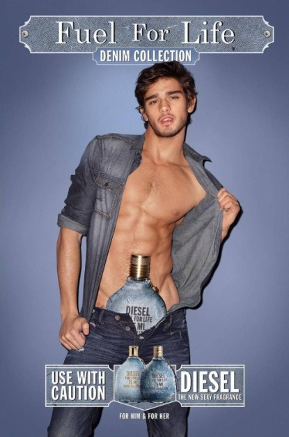 Diesel Decides That Real Men Wear A Bottle In Their Pants