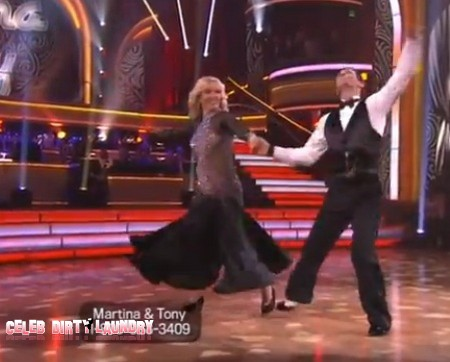 Martina Navratilova Dancing With The Stars Foxtrot Performance Video 3/19/12