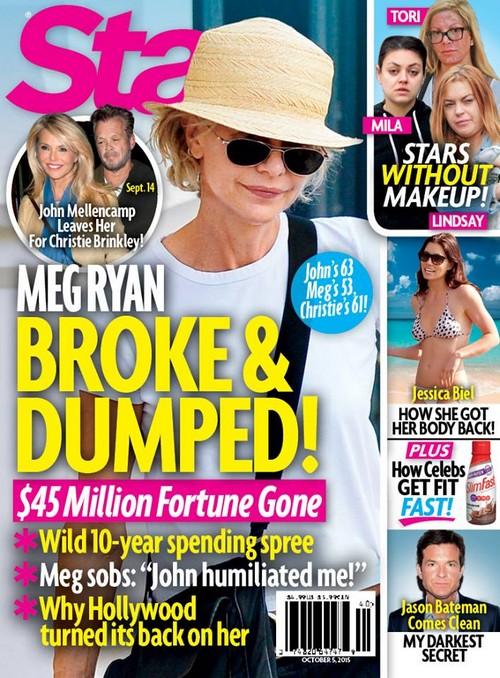 Meg Ryan Dumped and Broke – Blames Botched Plastic Surgery?