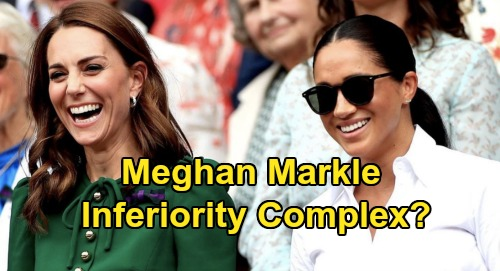Meghan Markle's Inferiority Complex - Felt 'Very Sensitive' Over Being Number Two To Kate Middleton