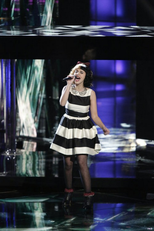 "Melanie Martinez The Voice Top 10 ""Seven Nation Army"" Video 11/19/12"
