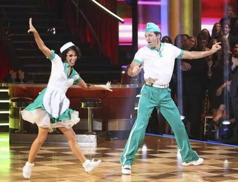 Melissa Rycroft Dancing With the Stars All-Stars Tango Performance Video 10/23/12