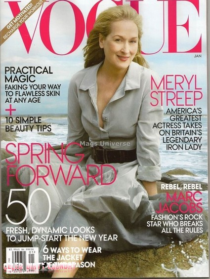 Meryl Streep Covers Vogue But She Fears She Looks Grotesque