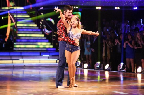 Michael Waltrip & Emma Slater Dancing With the Stars Argentine Tango Video Season 19 Week 6 10/20/14 #DWTS