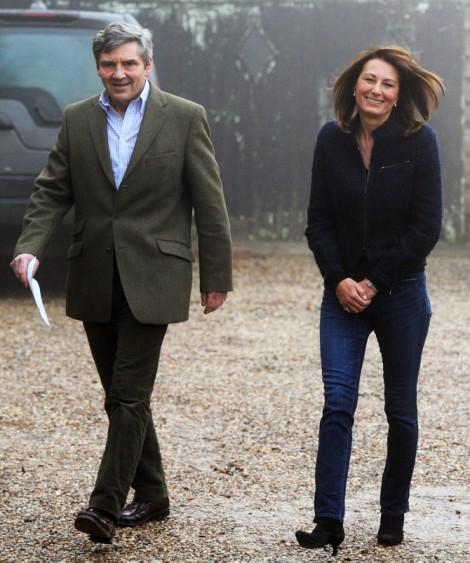 Kate Middleton's Parents Finally Getting Titles, Social Climbing Complete? 0129