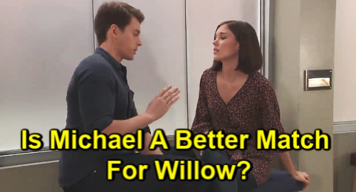 General Hospital Spoilers: Michael Corinthos (Chad Duell) - Willow Tait (Katelyn MacMullen)