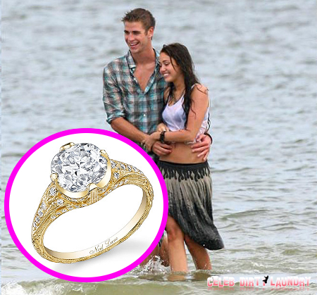 Miley Cyrus's Engagement Ring -- PHOTO HERE