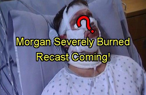 'General Hospital' Spoilers: Morgan Survives Explosion Badly Burned - Set Up for Plastic Surgery Recast