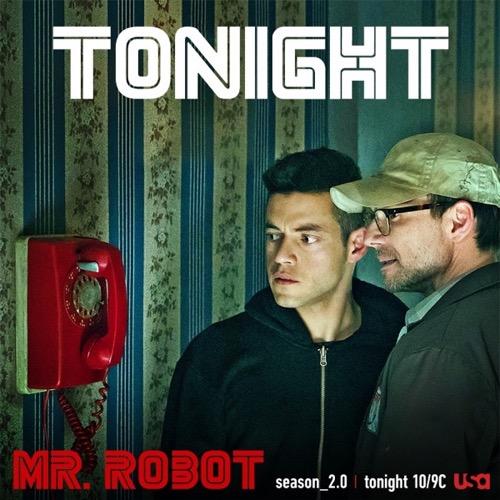 """Mr. Robot Premiere Recap 7/13/16: Season 2 Episode 1 & 2 """"eps2.0_unm4sk-pt1.tc/eps2.0_unm4sk-pt2.tc"""""""