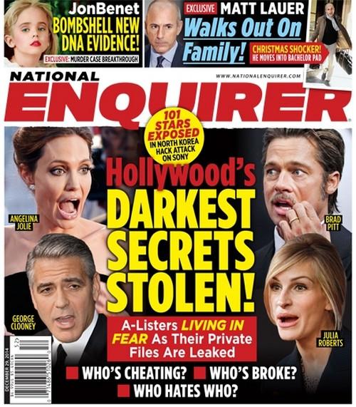 Angelina Jolie And Brad Pitt Fear Sony Hack Secrets Reveal Sexual Fantasies, Cheating