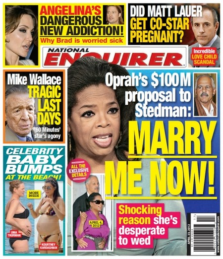 Oprah Winfrey Offers Stedman 100 Million Dollars To Marry Her (Photo)
