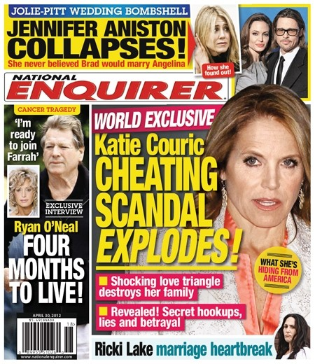 Katie Couric Cheating Scandal Explodes!