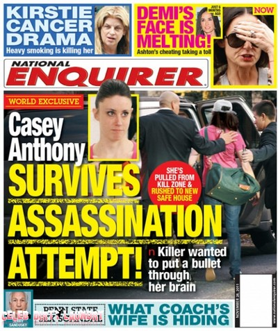 National Enquirer: Casey Anthony Survives Assassination Attempt (Photo)