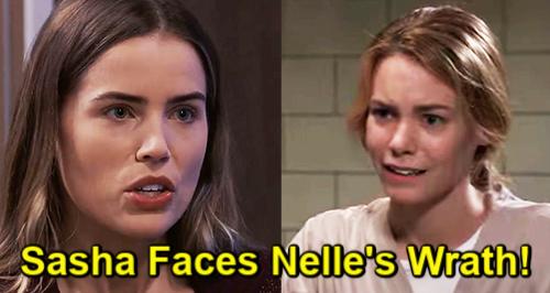General Hospital Spoilers: Sasha Gilmore (Sofia Mattsson) - Nelle Benson (Chloe Lanier)