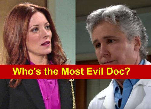 The Young and the Restless (Y&R) Spoilers: Who's Genoa City's Most Evil Doctor - Dr Anderson or Dr Neville?