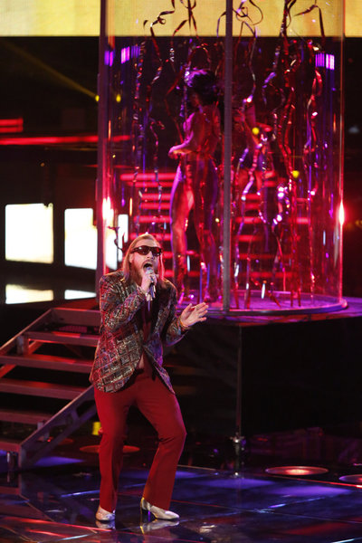 Nicholas David Eliminated From The Voice 12/18/12 (Video)